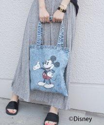 Khaju/GOOD ROCK SPEED: ミッキーマウス/デニムトート/001935312