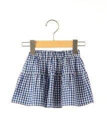 SHIPS KIDS/SHIPS KIDS:ベビー ギンガムチェック ティアード スカート/001935318