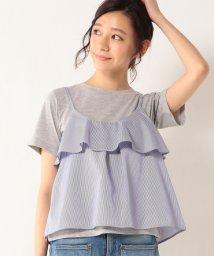 coen/キャミレイヤードTシャツ(SET)/001936562