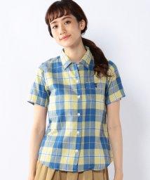 coen/ダブルガーゼオープンカラーボタンダウンシャツ/001933130