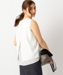 ICB(LARGE SIZE)/ClearHalfCardigan ニット/001939228