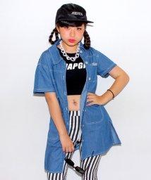 ANAP GiRL/デニムロングシャツ/001933625