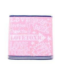 Lovetoxic/落書き風ハンドタオル/001936302