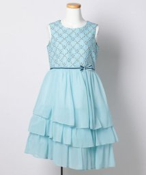 KUMIKYOKU KIDS/【SCHOOL】小紋幾何フラワー ドレス/001941463