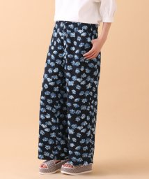 URBAN RESEARCH/【ROSSO】Flower Print Wide Pants/001890986
