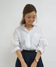 31 Sons de mode/【andGIRL9月号掲載美香さん着用】オーバーサイズシャツ/001941160