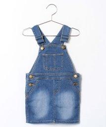 petit main/デニムサロペットスカート/001940192