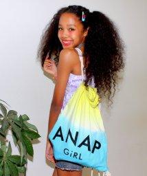 ANAP GiRL/グラデーションロゴナップザック/001940174