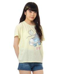 PINK-latte/ローラースケートTシャツ/001948073
