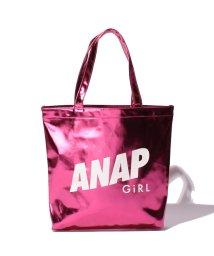 ANAP GiRL/メタリックロゴトートバック/001944340