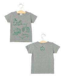 SHIPS KIDS/SHIPS KIDS:リフレクション プリント TEEシャツ(100~130cm)/001948700