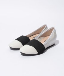 INTER-CHAUSSURES IMPORT/【INTER CHAUSSURES】異素材コンビウェッジヒールシューズ/001936517