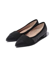 INTER-CHAUSSURES IMPORT/【INTER CHAUSSURES】素材コンビポインテッドシューズ/001936518