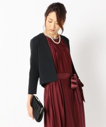 NIJYUSANKU/【洗える!&UVケア】コットンポリエステル カーディガン/001951660