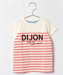 LAGOM/ボーダー切替Tシャツ/001945773