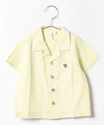 LAGOM/1ポイント刺繍開襟シャツ/001945783