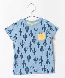 LAGOM/サボテン総柄Tシャツ/001945795