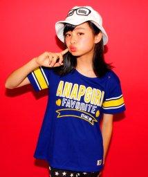 ANAP GiRL/ロゴチェーン刺繍Tシャツ/001951183