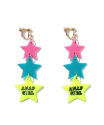 ANAP GiRL/NET限定 3カラースターロゴイヤリング/001952163