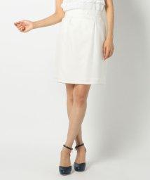 MISCH MASCH/グログラン付コクーンタイトスカート/001956270