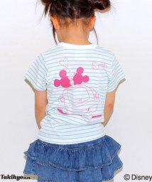 ANAP KIDS/ドライブミッキーミニー ポッケ付きTシャツ/001952868