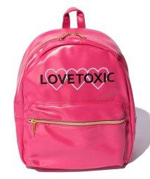 Lovetoxic/3ハート合皮リュック/001954274