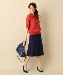 J.PRESS LADIES(LARGE SIZE)/OPERA ボウタイニット/001957912