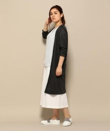 ICB(LARGE SIZE)/LusterRibJersey カーディガン/001951652