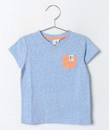 LAGOM/VネックポケットTシャツ/001954597