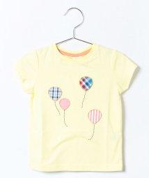 LAGOM/風船アップリケTシャツ/001954600