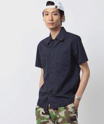 FREAK'S STORE/ヴィンテージ加工ワークシャツ/001964190