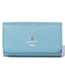 LANVIN en Bleu(BAG)/リュクサンブールカラー キーケース/LB0002529