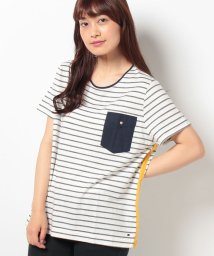 TOMMY HILFIGER WOMEN/FLORENCE C−NK TOP SS/001957784