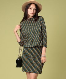 beautiful people/bias border twist blousing dress/001962606