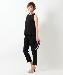MISCH MASCH/裾プリーツパンツドレス/001970887
