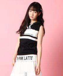PINK-latte/異素材MIXアンサンブル/001971093