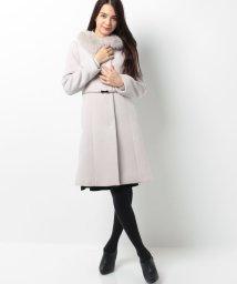 PROPORTION BODY DRESSING/【AneCan 12月号掲載】ベルト付ノーカラーコート/001974863