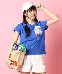 PINK-latte/ミルクパックポケットTシャツ/001975680
