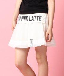 PINK-latte/メッシュスカート/001975699