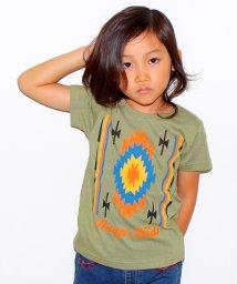 ANAP KIDS/ネイティブプリントTシャツ/001970044