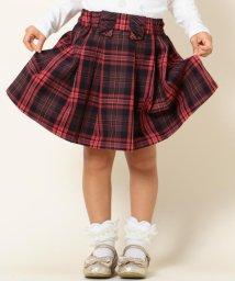 KUMIKYOKU KIDS/【TODDLER】クラシックチェック スカート/001982388