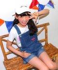 ANAP GiRL/ロゴ刺繍デニムサロペット/001976498