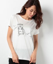 ROPE' mademoiselle/レイチェルミューズCROWN Tシャツ/001979069