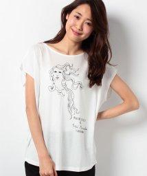 ROPE' mademoiselle/レイチェルミューズHAIR Tシャツ/001979070