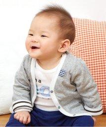 baby ampersand / F.O.KIDS MART/男児ベビーカーディガン/001979797