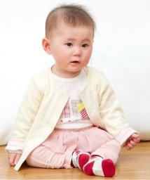 baby ampersand / F.O.KIDS MART/女児ベビーカーディガン/001979798