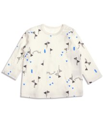 baby ampersand / F.O.KIDS MART/フラッグ&ボトル柄Tシャツ/001979800