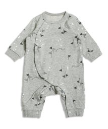 baby ampersand / F.O.KIDS MART/フラッグ柄カバーオール/001979802