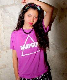 ANAP GiRL/さんかくロゴBIGTシャツ/001979655