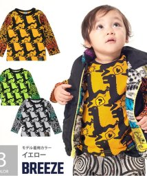 BREEZE / PARTY PARTY /Dino総柄マルチ長袖Tシャツ/001983155